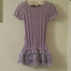 Truly Scrumptious,Heidi Klum knit ruffle dress, 3T